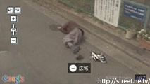 人が倒れているんだが ストリートビュー