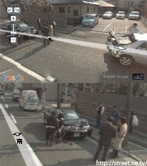 事故現場 ストリートビュー